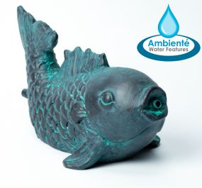 H10cm Fish Pond Spitter Fountain by Ambienté