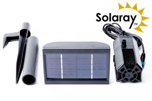 150LPH Solar Pump with Battery Back-Up for Pond Fountains by Solaray™