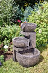 H49cm Genoa Solar Cascading Water Feature