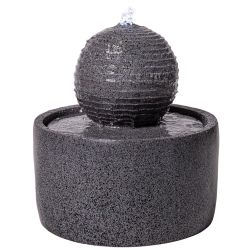 41cm Padova Sphere Water Feature by Solaray™