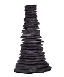 Slate Cascading Pyramid Water Feature with Kit