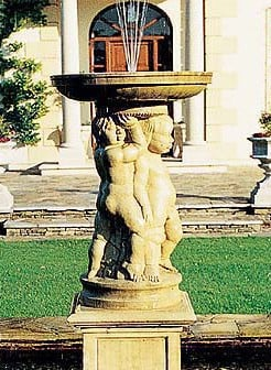 Cherub Fountain Water Feature
