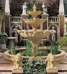 Caesar Three Tier Fountain Water Feature