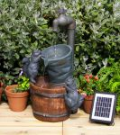 Solar Powered Buckets and Tap Water Feature by Eco Solaray�