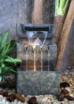 Medium 3 Level Cascade Water Feature With Lights