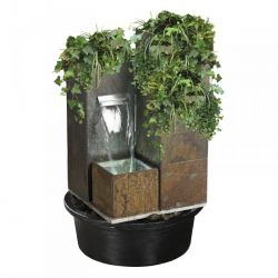 81cm Nagoya Schist Stone Cascade Water Feature Planter