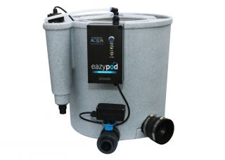 10,000L Evolution Aqua EasyPod Automatic Pond Clarifier in Grey