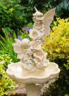 Fae Falls Four Tier Cascading Water Fountain with LED Lights - H105cm