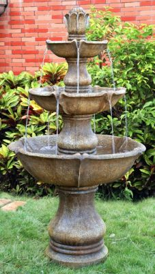 Large 4 Tier Classic Fountain Water Feature
