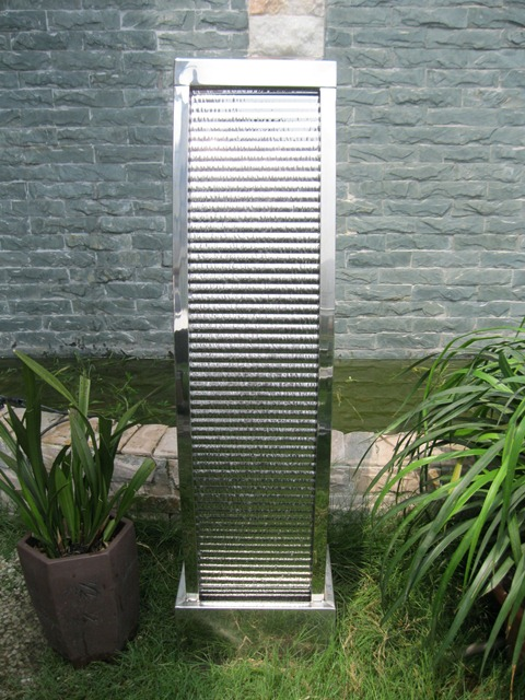 Havana Stainless Steel Water Feature