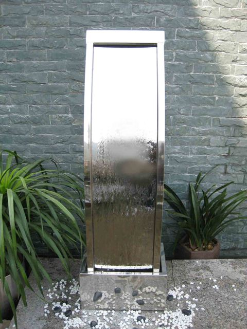 Paris Stainless Steel Water Feature