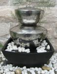 Bilbao Stainless Steel Tabletop Water Feature