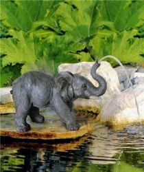 Elephant Spitter Water Feature