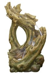Knotted Willow Falls Water Feature with LEDs