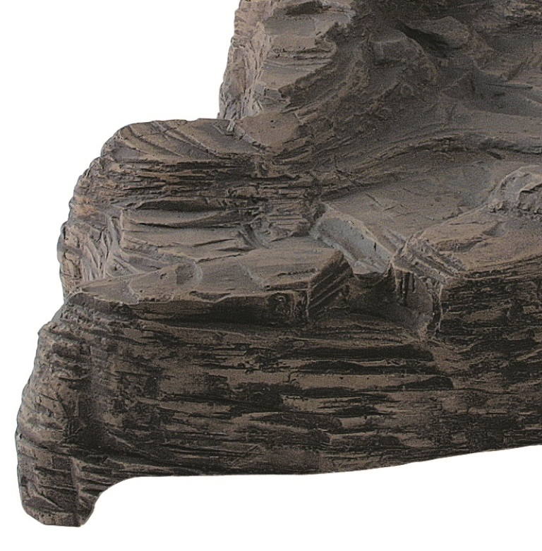 78cm Colorado Stone Effect Preformed Waterfall - Right Curve
