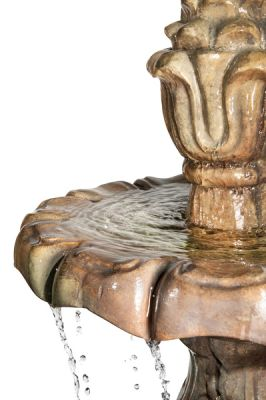 Henri Studios Classical 3 Tier Finial Fountain