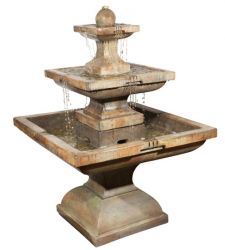 Henri Studios Tall 3 Tier Equinox Fountain