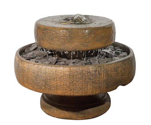 Henri Studios Millstone Water Feature H76cm