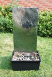 Large Stainless Steel High Rise Water Feature