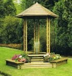 Japanese Fountain Gazebo