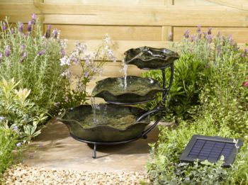 Smart Solar Ceramic Frog Water Feature