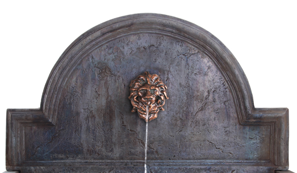 Villarreal Trough Water Feature With Valencia Lion Head Spout W102cm X H104cm