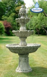 H1.5m Regal 3 Tier Cast Stone Fountain by Ambienté™