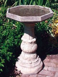 Classical Birdbath Plain Bowl