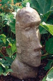 Easter Island Head Fountain