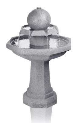 89cm Octavius Bird Bath Water Feature with Lights by Ambienté™