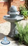 Octavius Bird Bath Water Feature with Lights by Ambienté™ (H89cm)