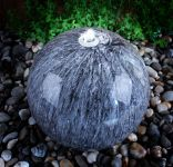 Echo Falls 50cm Marble Stone Touch Sphere with LED Lights by Ambient�