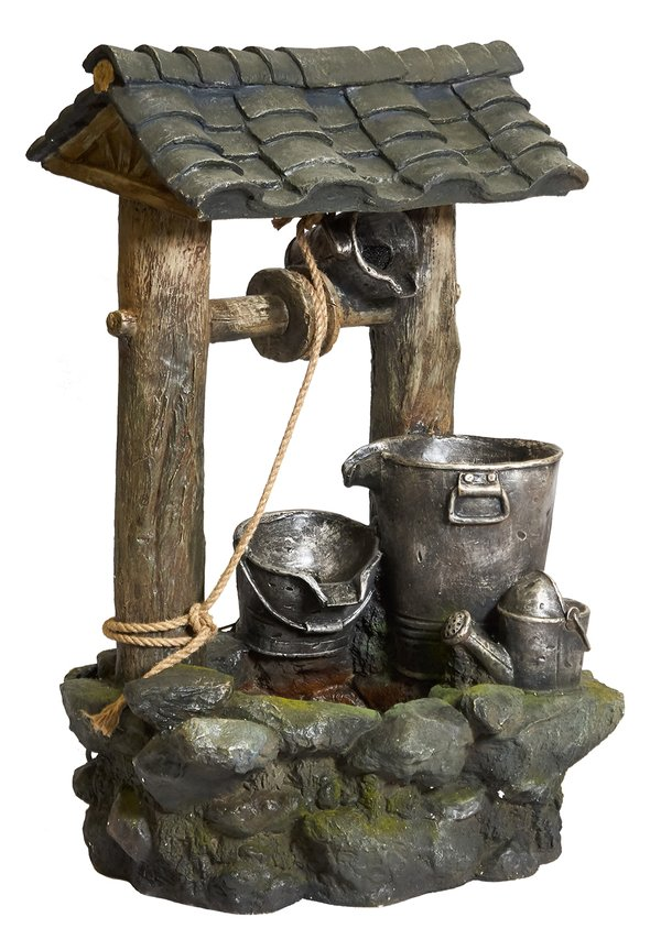 Wishing Well Water Feature H100cm x W64cm