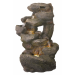 Rugged Rocks Water Feature with LED Lights