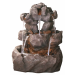 Rock Springs Water Feature with LED Lights
