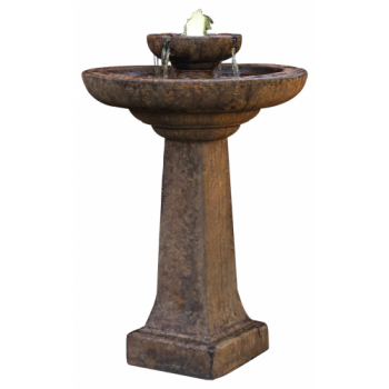 Aquarius Fountain inc. Light - Relic Lava From Henri Studios