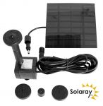 Solar Water Pump Kit - 150LPH with 4 Fountain Heads - by Solaray�