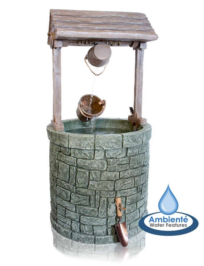 Wishing Well Water Feature - Large - H151cm by Ambient�