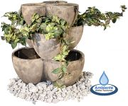 Goya Stone Planter Water Feature H76cm by Ambienté™
