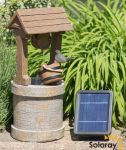 50cm Solar Wishing Well Water Feature by Solaray™