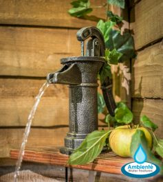 36cm Old Tap Water Feature by Ambienté™