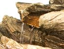 Cherokee Falls 3-tier Cascade Water Feature with Lights 56cm by Ambienté