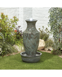 Classic Urn Water Feature with Lights