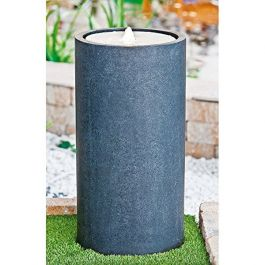 Round Arolo Terrazzo Water Feature with Light