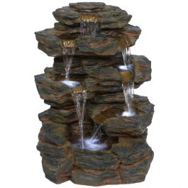 Denver Slate Falls Natural Style LED Water Feature