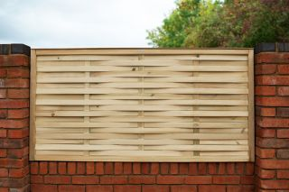 6ft x 3ft Fence Panel Pack of 3 - Pressure Treated Woven
