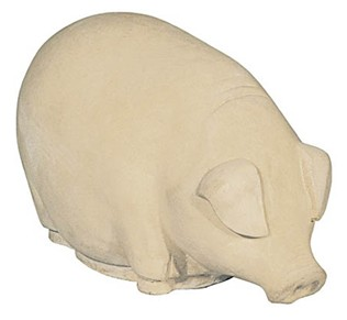 Small Pig Stone Figurine