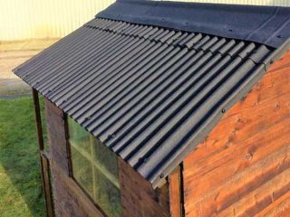Watershed Roofing Kit for 3x5ft, 3x6ft, and 4x6ft Apex Roof