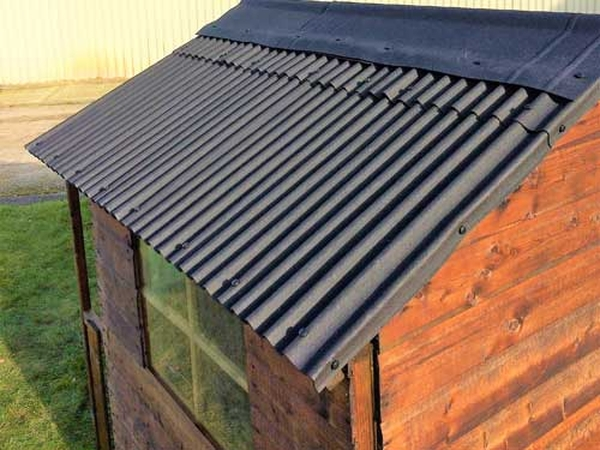 Watershed Roofing Kit for 8x12ft Apex Roof