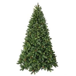 6ft Linwood Fir Prelit LED Artificial Christmas Tree